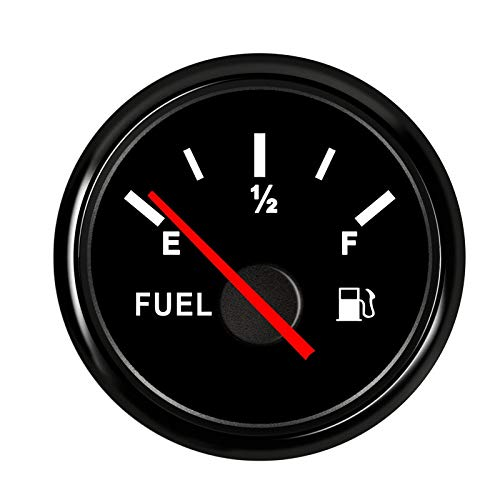 Nologo Odometer Spur Auto-Boot-Tankanzeige mit Hintergrundbeleuchtung for 0~190 Ohm Kraftstoff Füllstandssensor for Universal-Boots-Auto-LKW-Wasserdicht ZHQHYQHHX