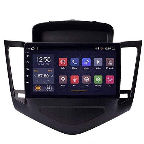 Radio de coche Android 8.1, GPS, pantalla táctil de 9 pulgadas, estéreo, TV, para Chevrolet Cruze 2009 – 2014, con control en el volante, Bluetooth, manos libres, Link DAB USB SWC, 4G + WIFI2G + 32G