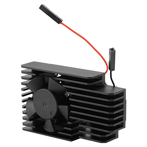 Jeanoko Sistema de enfriamiento silencioso y confiable Kit de Ventilador de enfriamiento 100% Nuevo con disipador de Calor
