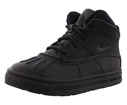 Nike Woodside 2 High (td) Toddler 524874-004 Size 9 Black/Black/Black