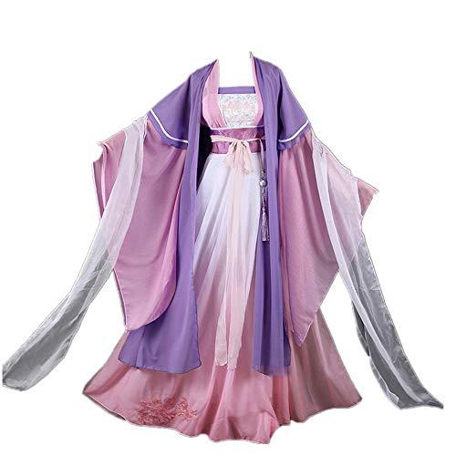 8 STÜCKE/Set Cosplay-Kostüm Halloween-Karneval MO DAO ZU SHI Jiang YAN LI Hanfu Chinesische Kleidung Täglich Uniform Anzüge mit Zubehör Optionale Perücke