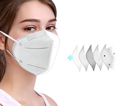 10 pcs NEWMARK JIDIAN 5-Ply Effective Daily Shields 99.6@3 microns Filtration For Protection of Nose and Mouth Against Unwanted Air Particles, Allergens, and Germs - SHIPS FROM USA