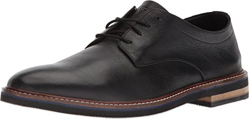 Bostonian Mens Dezmin Plain Oxford, Black Waterproof Leather, 11 Medium US,Black Leather,11 M