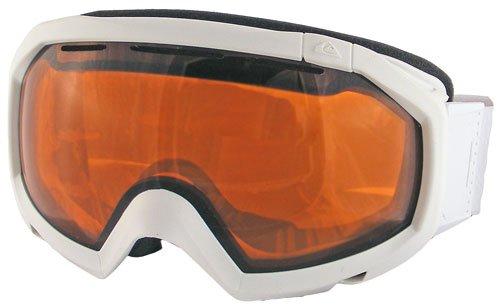 Quiksilver Facet Orb Snow Goggles - White Z65 / Orange