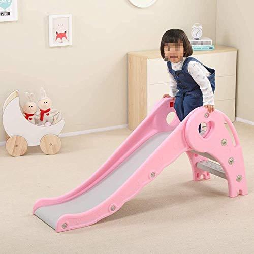 Raelf Slide infantil, Pequeño elefante Slide Forma, Manta plegable Longitud del juguete del bebé completa 1.2m cubierta Hogar Multi-función de diapositivas, fácil instalación seguro for 1-5 años Un re