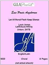 Ecce Panis Angelorum - Let All Mortal Flesh Keep Silence - Louis James Lef̩bure-W̩ly - Unison, SATB
