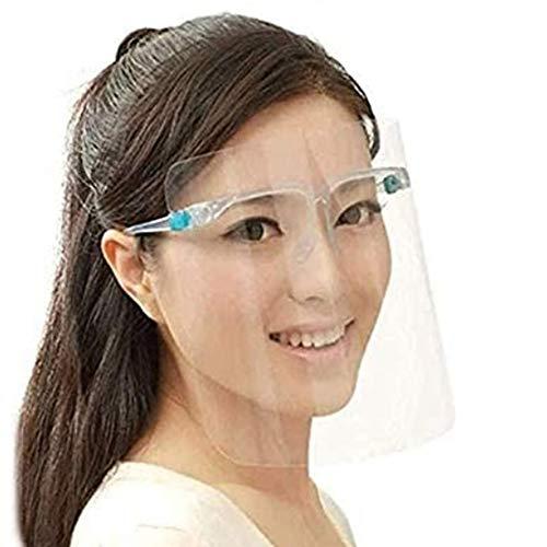 Écran Facial Transparent Écran Facial Tout Usage de Protection des Yeux Et de La Tête Lunettes de Protection Anti-Salive Atelier Nettoyage de cuisson