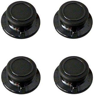 L&E Tapa Botón con ventilación Función 4 Unidades para Todo Tipo de Tapa de Cristal,