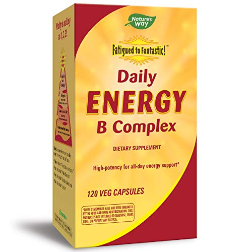 Nature's Way Fatigued to Fantastic! Daily Energy B Complex, 120...