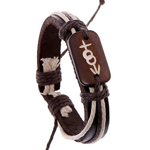 Rindfleisch Armband Geflochtenes Armband Europäisches Und Amerikanisches Leder Armband Lederarmband
