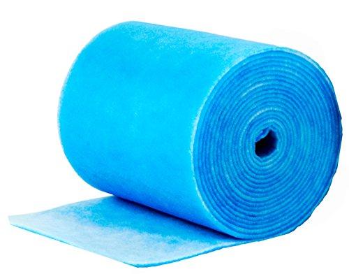 Filtermatte/Filterrolle Standard weiß/blau für Lüfter und Hausgeräte Rolle 20 x 2 m Filterklasse G4 zum Zuschneiden