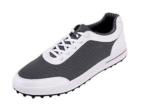 PGM Chaussures de Golf en Maille Respirantes pour Hommes