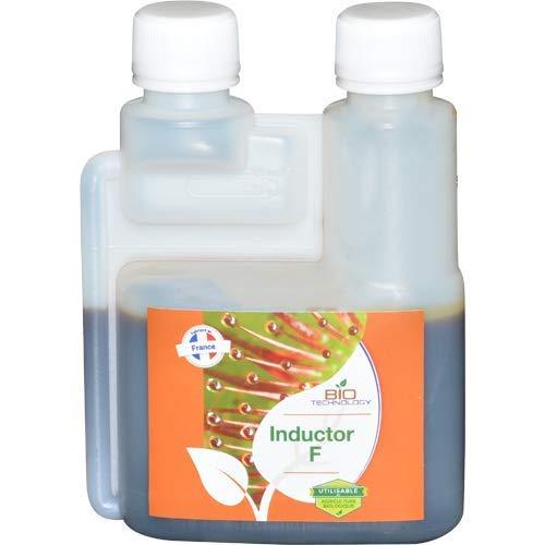 Bio Technology® | Fertilizante de Flores | Aditivo para Flores | Tricomas de Alto Rendimiento | Formula Única | Mejora la Resina Inductor F - 250 ML
