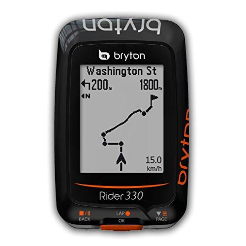 """Bryton Rider 330 GPS Cycling Computer (1.8"""" Display, 330E - Base Model (New Packing))"""
