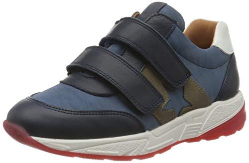 Bisgaard kamma Velcro Shoe, Navy, 31 EU