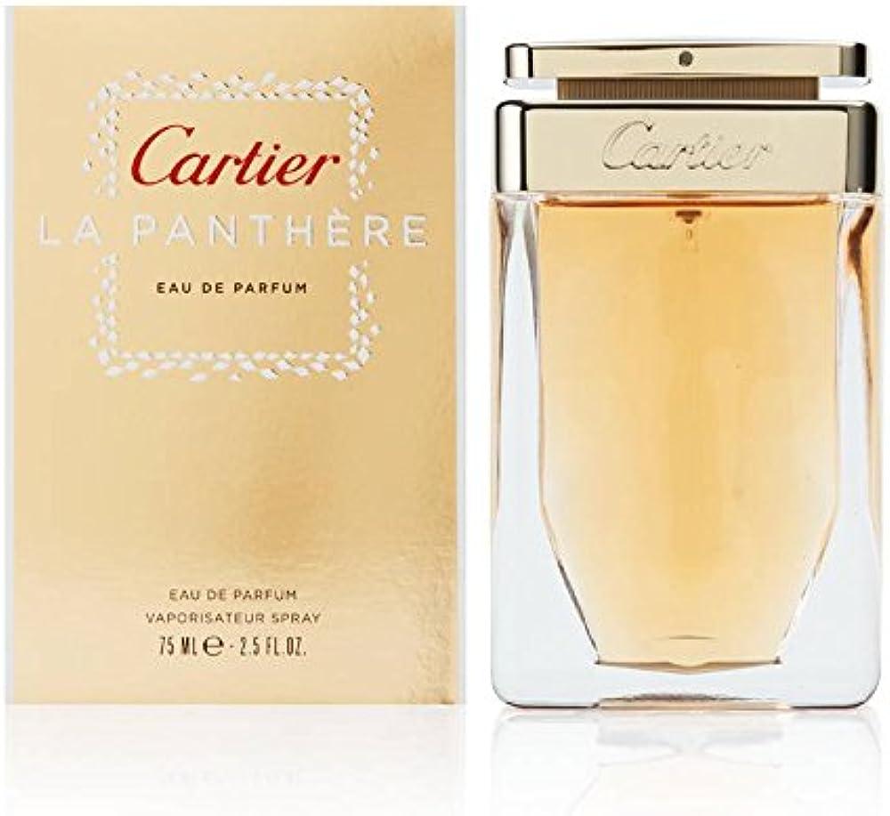 Cartier - la panthère - acqua di profumo per uomo, 75 ml, CARPFW043