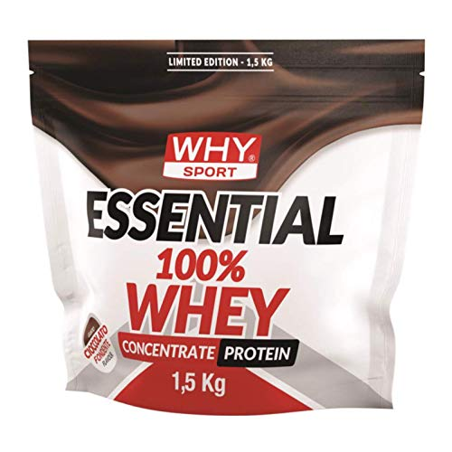 Why Sport Essential 100% Whey Cioccolato Fondente 1,5 kg LIMITED EDITION
