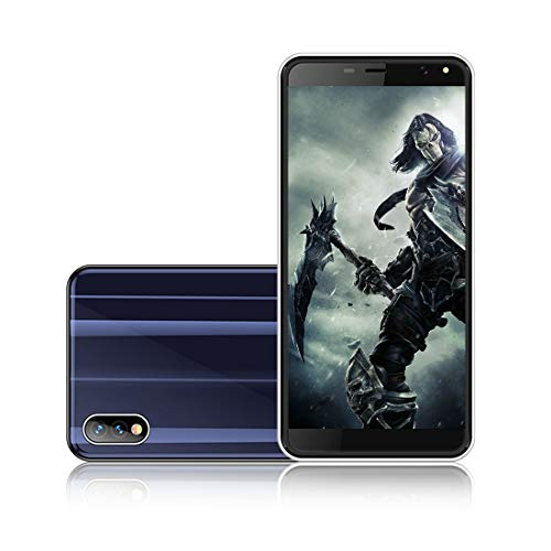 I KALL K5 4G Smartphone Android Mobile (Blue, 5.5 Inch Display, 2GB Ram, 16GB Storage)