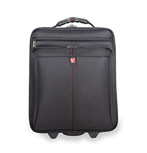 """VERBATIM Copenhague Laptop Trolley 16"""" - Sacoche à Roulette d'affaires pour Laptop avec Fermeture à Code & Grand Compartiment à vêtements - pour Voyages d'affaires et Week-Ends - rembourrée"""