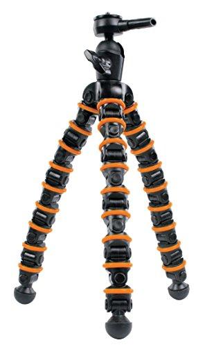Eurosell Profi 32,5cm Tisch Kamera Stativ Ultra flexibel kompatibel mit Canon Nikon Samsung Sony Rollei Fuji Panasonic für Camcorder Actioncam DSLR SLR Reise Sport outdoor flexible Tripod Fotograf