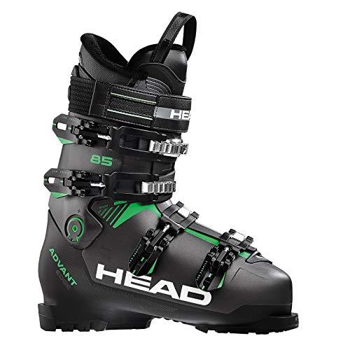 Head Botas de esquí unisex para adultos ADVANT EDGE 85, antracita/negro/verde 608201-30.5,...