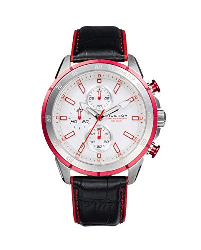 VICEROY - Crono Acero Aluminio Rojo Correa Sr Va - 46799-07