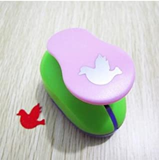 Fascola 53 Style 2.5cm Handmade Crafts and Scrapbooking Tool Paper Punch For Photo Gallery DIY Gift Card Punches Embossing device ( Dove )