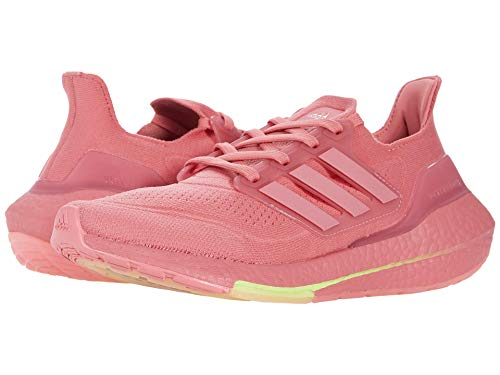 adidas Women's Ultraboost 21 Running Shoes, Hazy Rose/Hazy Rose/Ash Pearl, 9.5