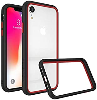 Protective Frame from RhinoShield CrashGuard NX for iPhone XR black with red