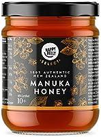 Marque Amazon - Happy Belly Select Miel de manuka 10+, 340gr - MGO 261