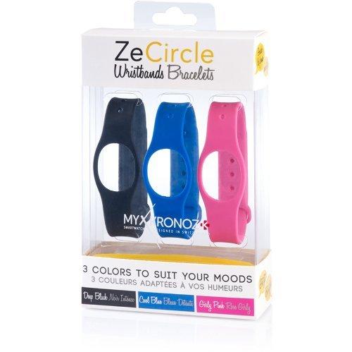 MyKronoz ZECIRCLE-PACK-3-CLASSIC Extra austauschbar Wechselarmband 3-er Set