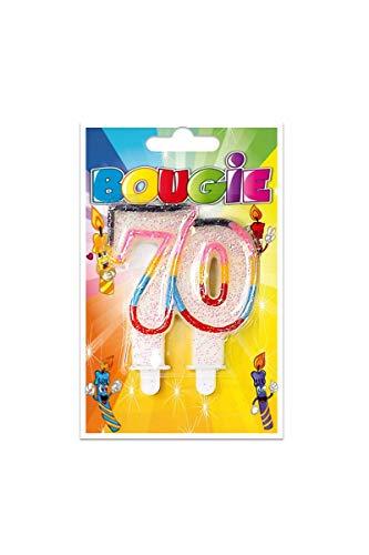 Parafete Candela Compleanno 70 Anni