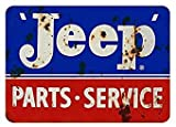 YYone Jeep-Blechschild Vintage Metall Pub Club Cafe Bar