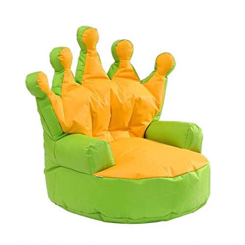 Dsnmm Kinder-Sitzsack, Stoff, Sofa, tragbar, für den Innenbereich, einzelner Sitzsack, Geschenk, violett, 27.5*25.6*27.5IN