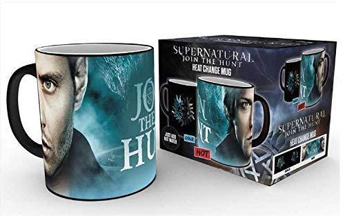 GB Eye Thermobecher Supernatural, Sam und Dean Symbol, Keramik, verschiedene Farben, 15 x 10 x 9 cm