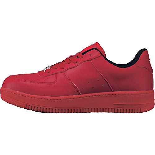 [ジーベック] 安全靴 85141 JSAA規格B種認定品 耐滑セーフティシューズ レッド 29 cm 4E 85141-71-290