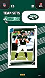 New York Jets 2021 Factory Sealed 11 Card Team Set with Joe Namath and Zach Wilson Plus 3 Other Rated Rookie Cards. rookie card picture