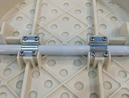パール金属アイロン台アルミコート軽量コンパクトシンプルピュアH-3060