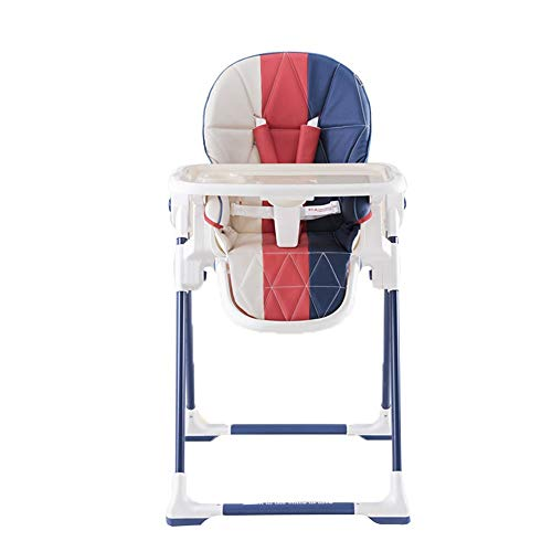 Buy Discount Portable High Chair 5-position Safety Harness Shoulder Cover Adjustable 3-position Recl...