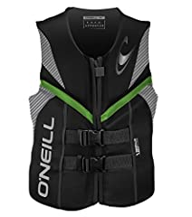 USCG Approved Personal Flotation Device; Perfect for Wake Sports, Waterskiing, Tubing, and Swimming Segmented Foam Core And Anatomical Flex Points Allow Unrestricted Movement Quick Release Safety Buckles And Heavy Duty Front Zipper Create an Unparall...