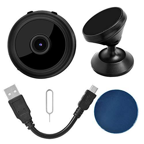 Oreilet Cámara infrarroja WiFi, Mini cámara, cámara de Seguridad pequeña 1080P para Interior/Exterior 1080P Cámara de Seguridad para el hogar