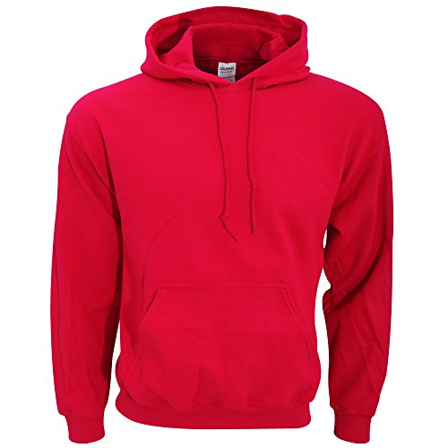 Gildan Herren Heavy Blend Hooded Sweatshirt 18500 Antique Cherry Red L