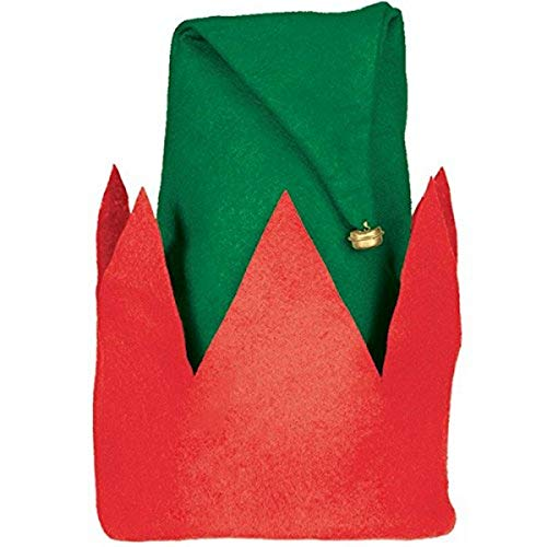 amscan Green Felt Elf Hat for Children   Christmas Accessory