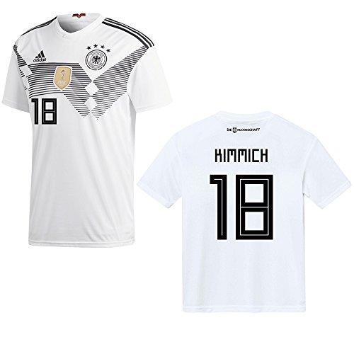 adidas DFB Deutschland Trikot Home Herren 2018/2019 - KIMMICH 18, Größe:M