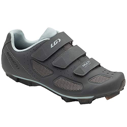 Louis Garneau, Women's Multi Air Flex II Bike Shoes for Indoor Cycling, Commuting and MTB, SPD Cleats Compatible with MTB Pedals, Asphalt, 40