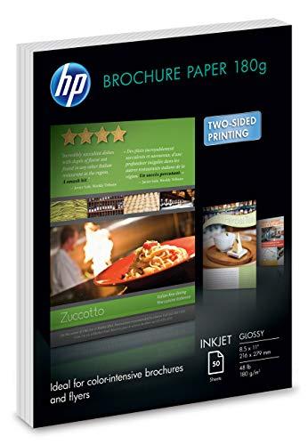 HP Brochure Paper | Glossy Professional InkJet | 8.5x11 | 50 Sheets