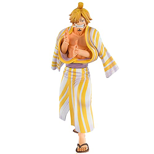 RAXST ONE PIECE Vinsmoke Sanji Action Figure 5.5' Modell Anime Figures Collectibles toys With Zoro replacement emoji for Photography, Hobby and Collection