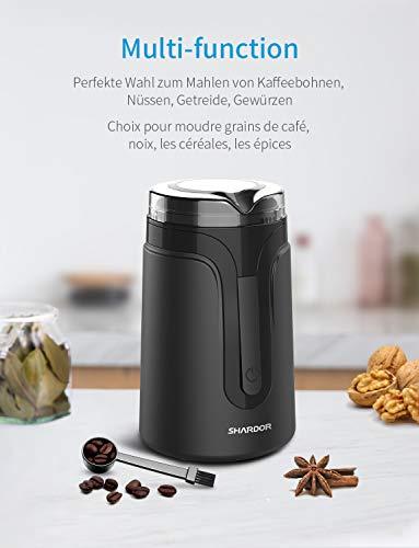 SHARDOR Molinillos de café eléctricos con cuchilla