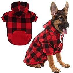 Image of KOOLTAIL Plaid Dog Hoodie...: Bestviewsreviews