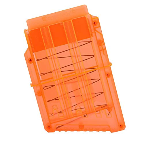 Wilecolly Cargador Clip, carga rápida Mega cargador clip porta pistola juguete bolas blandas almacenamiento para cartucho accesorios juguetes